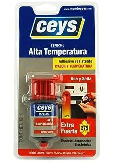 Ceys 501034 - Adhesivo contacto altas temperaturas 12 ml extra fuerte ceys