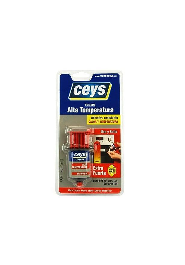 Ceys 501034 - Adhesivo contacto altas temperaturas 12 ml extra ...