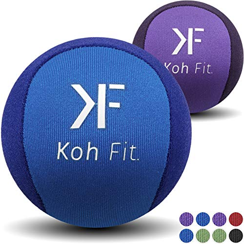 (Koh Fit Stress Ball Multipacks - Stress Reliever Squeeze Balls - 2 Bonus Ebooks: Hand Therapy Exercise Guide + Stress Relief Guide)