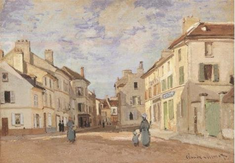 the-old-rue-de-la-chaussee-argenteuil-1872-by-claude-monet-oil-painting-20x29-inch-51x73-cm-printed-