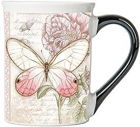 Vintage Butterfly Mug, Vintage Coffee Cup, Ceramic Vintage Mug, Vintage Gifts By Tumbleweed