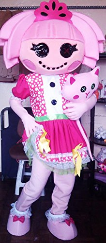 [Lalaloopsy Jewels Mascot Costume Adult Costume] (Lalaloopsy Adult Costumes)