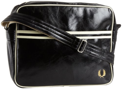 Fred Classic Hombre Bag Shoulder Negro Perry Negro rn0zpTqrw