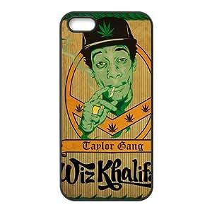 customized wiz khalifa for Iphone 5,5s case iphone 5-brandy-140113