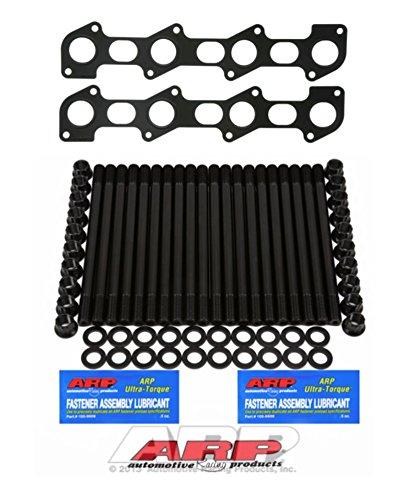 03-07 Ford Powerstroke Diesel 6.0L Custom ARP Head Stud Kit & Exhaust Manifold Gasket Set - Bundle