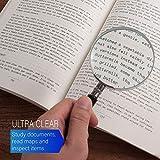 Insten Magnifying Glass 5X Handheld Reading