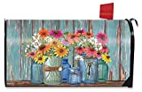 Briarwood Lane Farm Fresh Flowers Spring Magnetic Mailbox Cover Floral Standard'