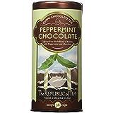 The Republic Of Tea Peppermint Cuppa Chocolate Tea, 36 Tea Bags, Rooibos Tea Dessert Blend