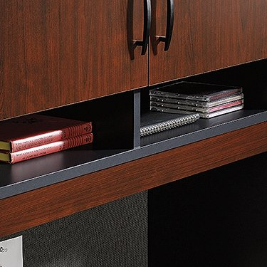 Sauder 419708 Via Lateral File Hutch, Classic Cherry Finish by Sauder (Image #3)