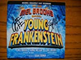 Signed CD from Young Frankenstein: The New Mel Brooks Musical [Original Broadway Cast Recording . Autographed by Sutton Foster & Shuler Hensley