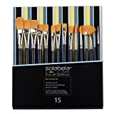 Solabela® Artist Brushes. Set of 15 - Rome Art Brush Set