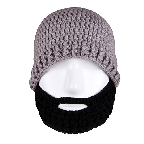 Free Fisher Unisex Knit Stubble Beard Beanie 0051