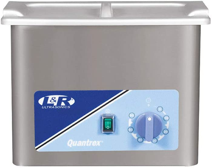 L & R Quantrex Q140 Ultrasonic with Timer & Heater 3 Quart