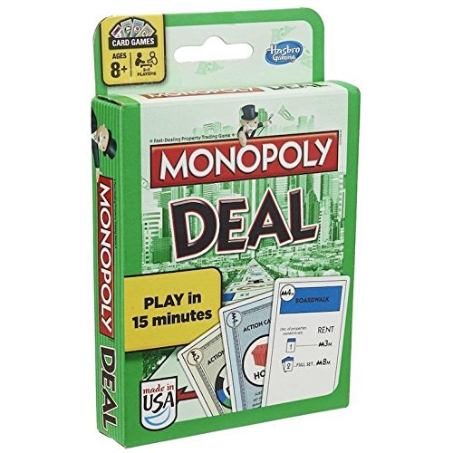 Hasbro Games Monopoly Deal Card Game by Hasbro