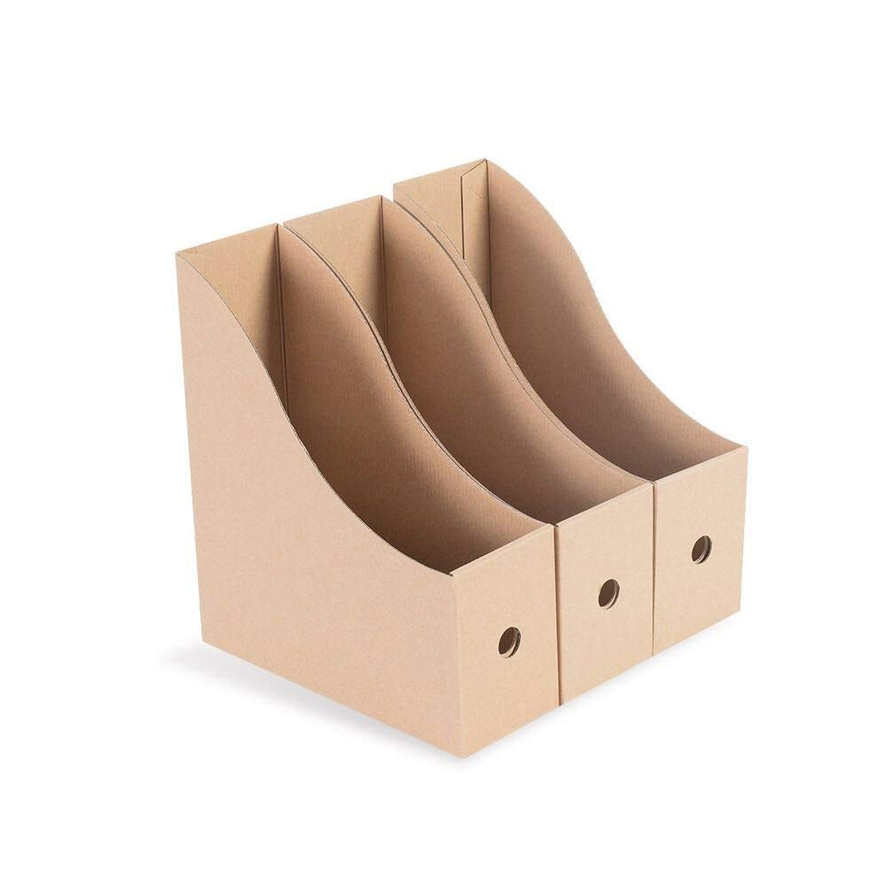 3 Pack Yu Yao City Yan Chen Mao Yi Co File Holder Organizer Desktop Storage Kraft Paper File Sorter Ltd.