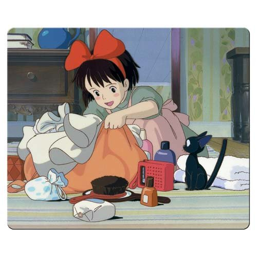 26x21cm 10x8inch game Mouse Pad cloth & rubber Mouse Pad Soft Kiki's Delivery - Kiki Pad