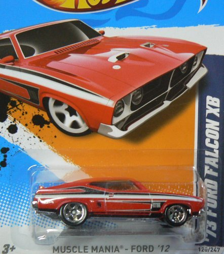 Hot Wheels Muscle Mania - Ford '12 '73 Ford Falcon XB 10/10 (Ford Falcon Hot Wheels)