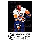 Kerry Laviolette Hockey Card 1983-84 Saskatoon Blades #9 Kerry Laviolette