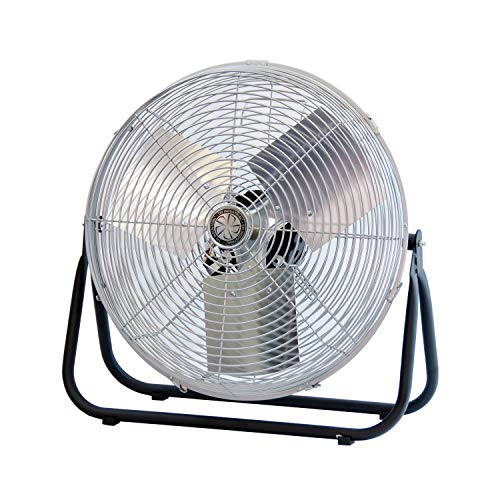 TPI Corporation F18-TE Industrial Workstation Floor Fan, Single Phase, 18
