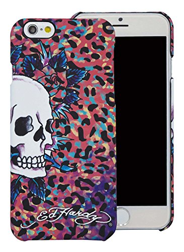 Ed Hardy Leopard (Ed Hardy Skull Color Leopard iPhone 6 Case,)