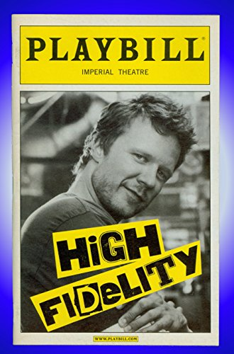 High Fidelity, Opening Night Broadway Playbill + Jenn Colella, Will Chase, Christian Anderson, Justin Brill, Jeb Brown, Andrew C. Call, Matt Caplan, Jay - Brown Call Justin