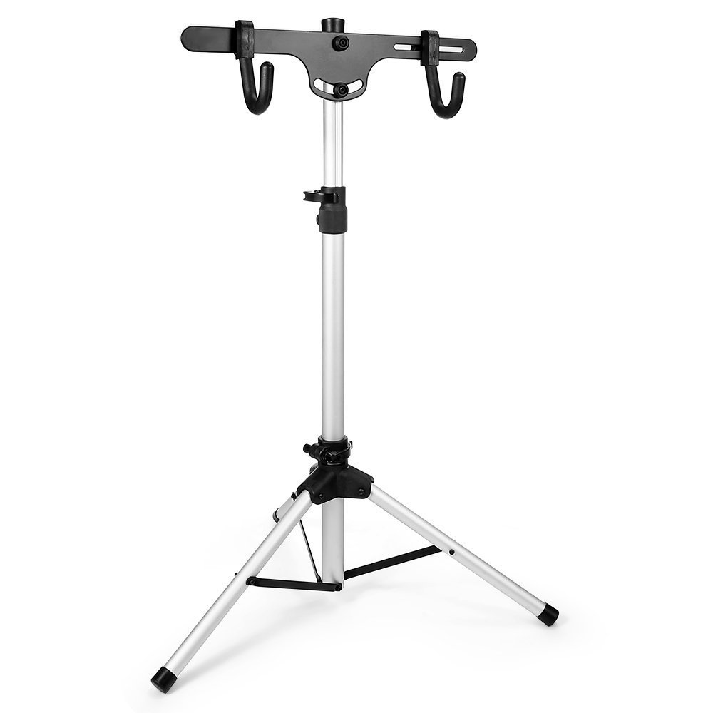 Dulcii Telescopic Bicycle/Bike Rack Stand, Freestanding Bike Stand Storage Rack, Adjustable Height: 27.3-51.5 inch