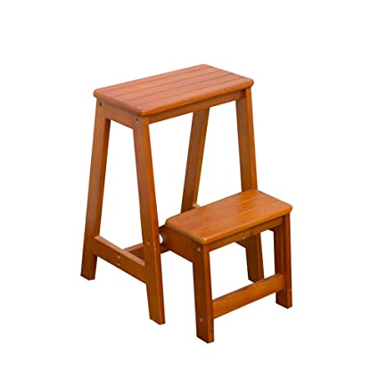 Pleasing Hyxqyttd Folding Steps Ladder Wooden Step Stool Ibusinesslaw Wood Chair Design Ideas Ibusinesslaworg