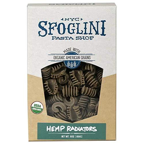 Sfoglini Pasta, Organic Hemp Radiators, 16oz (2-PACK) (Art Institute Of New York Culinary Arts)