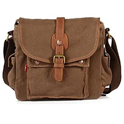 30%OFF Canvas Messenger Bag Over Shoulder Crossbody Travel School Work Bag bc686ef6547dd