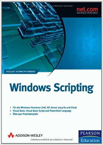 Windows Scripting: 9783827324238: Amazon com: Books