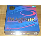 IMAGINiff Board Game 2006 REVISED EDITION!!! Over 100 of 183 Question Cards New and Updated! 3-8 Players. Ages 10 & up.