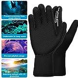 ZIPOUTE Neoprene Diving Gloves, 3MM Five Finger