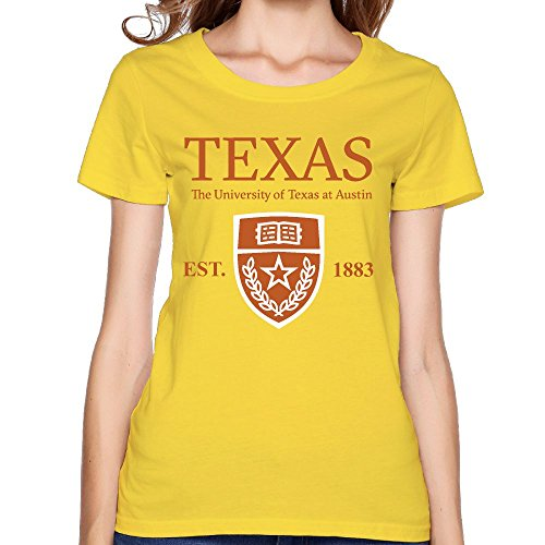 QTHOO Women's O Neck University of Texas at
