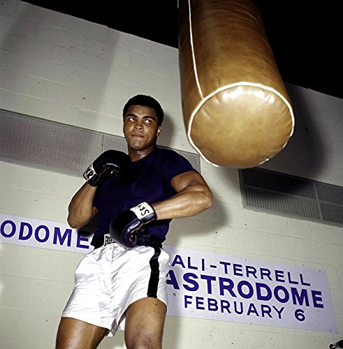 Posterazzi Muhammad Ali training at the Astrodome Photo Print (24 x 30)