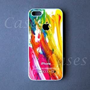 Iphone 5c Case - Colorful Paint Iphone 5c Cover wangjiang maoyi