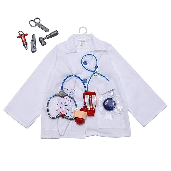 Amazon.com: Amosfun - Disfraz de médico para Halloween, para ...