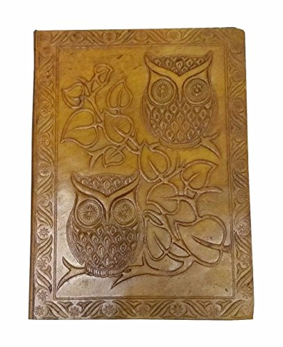 Keep Your Thought Alive With Deux Owl Leather Embossed Writing Notebook Travel Journal Daily Planner 5x7 - Decorated Journal 7