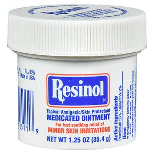 Resinol Medicated Ointment 1.25 oz (Pack of 2)