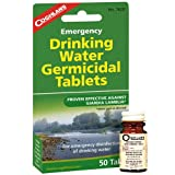 Coghlans 7620 Emergency Germicidal Drinking Water Tablets