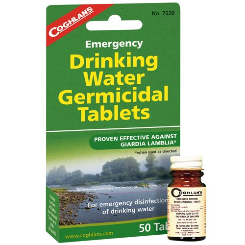 Coghlans 7620 Emergency Germicidal Drinking Water Tablets by Coghlan's