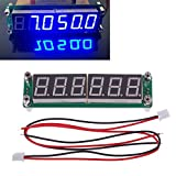 0.1MHz to 65MHz RF 6 Digit Blue Led Signal Frequency Counter Cymometer Tester HY