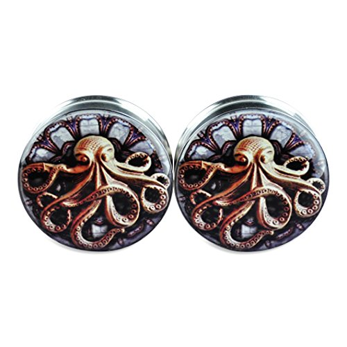 0g steampunk plugs - 5