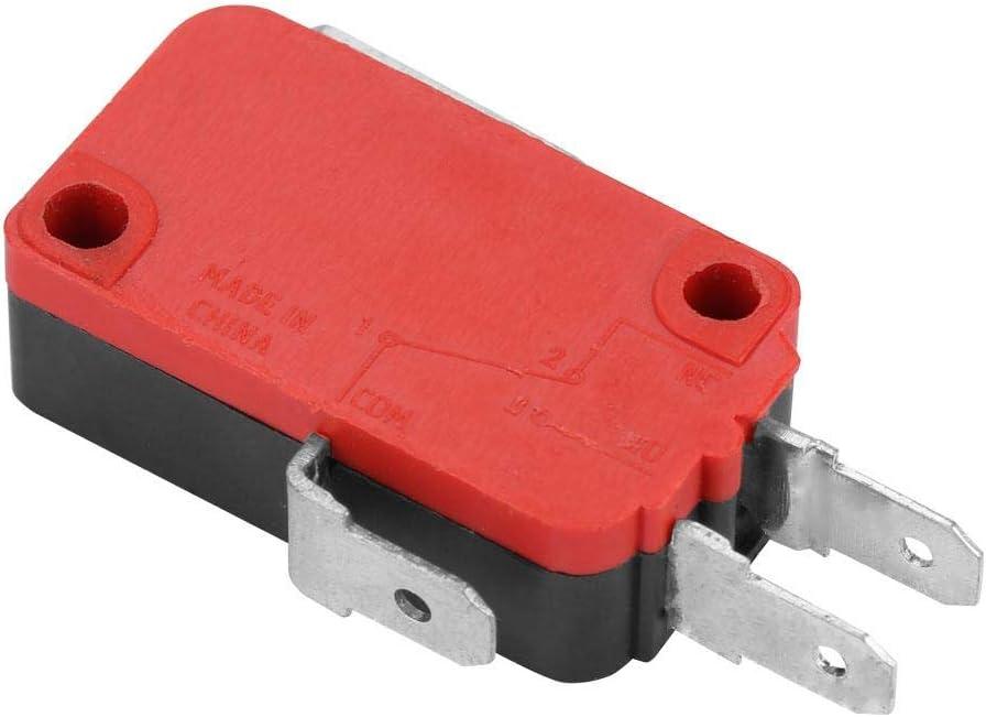 10 pi/èces Micro interrupteur de fin de course 250V AC 15A et 250V DC 0.3A et 125V 0.6A Interrupteur de fin de course momentan/é micro Action instantan/ée Commutateur de limite BM-155-1C27