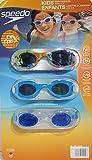 Speedo Kids Enfants Swim Goggle Set Fun Prints - 3 Pack (Blue)