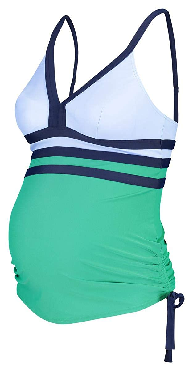 Noppies Damen Umstands Tankini top Lily AOP