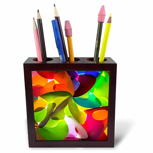 3dRose Danita Delimont - Abstracts - Thailand, Chiang Mai, Thai Market Place - 5 inch tile pen holder (ph_276975_1) by 3dRose