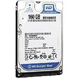 Western Digital Wd1600Bevt 160 Gb 5400Rpm Sata 8 Mb 2.5-Inch Notebook Hard Drive