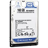 Western Digital WD1600BEVT 160 GB 5400RPM SATA 8 MB 2.5-Inch Notebook Hard Drive