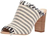 Vince Camuto Women's Chestalan Heeled Sandal, Navy Stripe Multi, 9 Medium US