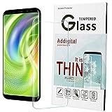 Galaxy S8 plus Screen Protector,Addgital S8 plus Glass Screen Protector,[HD Clear Film] [Anti-Bubble] [3D Touch] Tempered Glass Screen Protector for Samsung Galaxy S8 plus